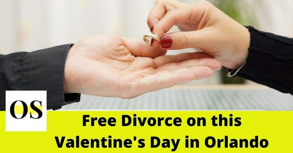 "''Free Divorce of instigated couple on this Valentin's Day in Florida"" 3"