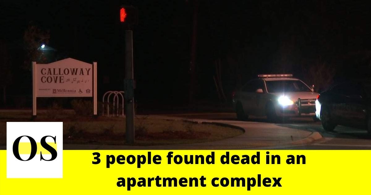 3 people found dead in an apartment complex in Jacksonville 2