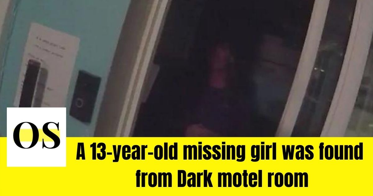 13-year-old missing girl rescued from a motel room by Florida Sheriff's Deputy 1