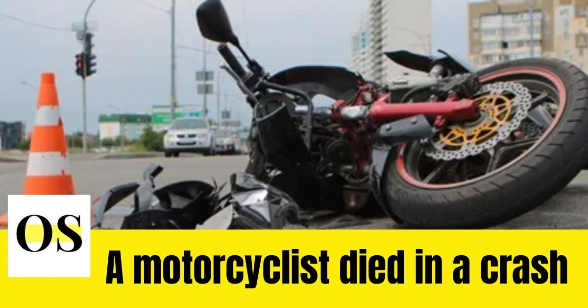 A Motorcyclist died in a crash in Diana Beach 1