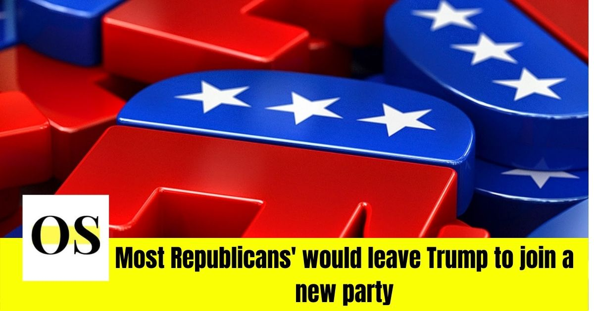 Loyalty of Republicans questioned - half the Republican would leave Trump to join a new party 2
