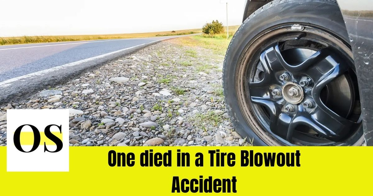 The Miccosukee police officer died in a tire blowout accident 1