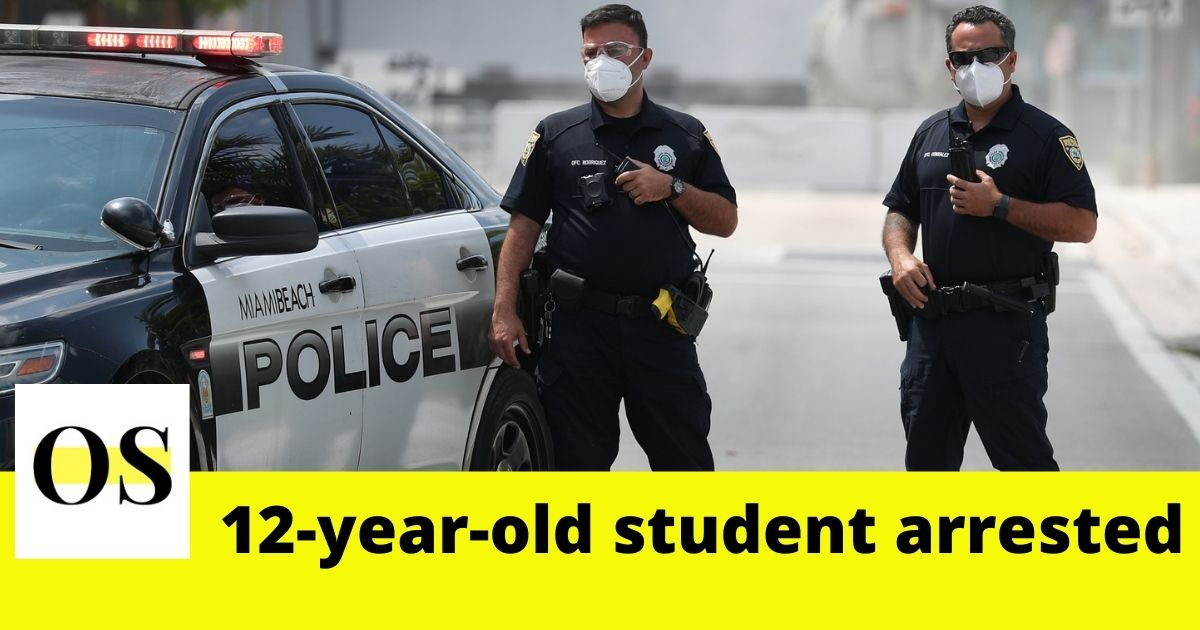 "'' I'm Shooting up the School"" 12-year-old Boy threatened the school students. 1"