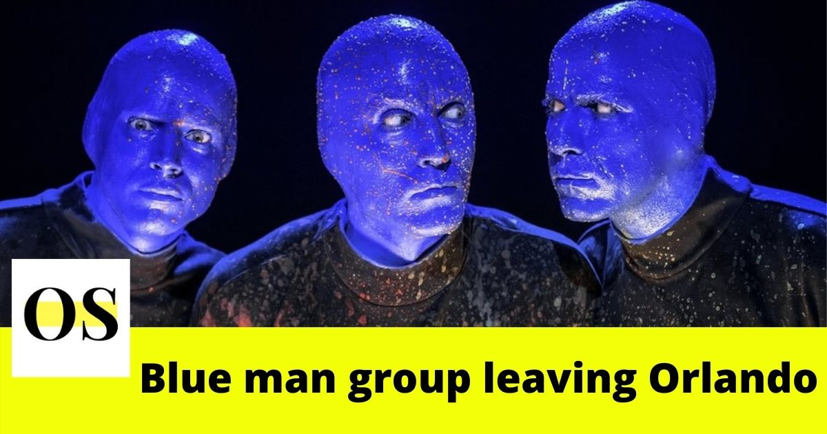 Blue Man Group said Bye to Orlando after 14 years!! 1