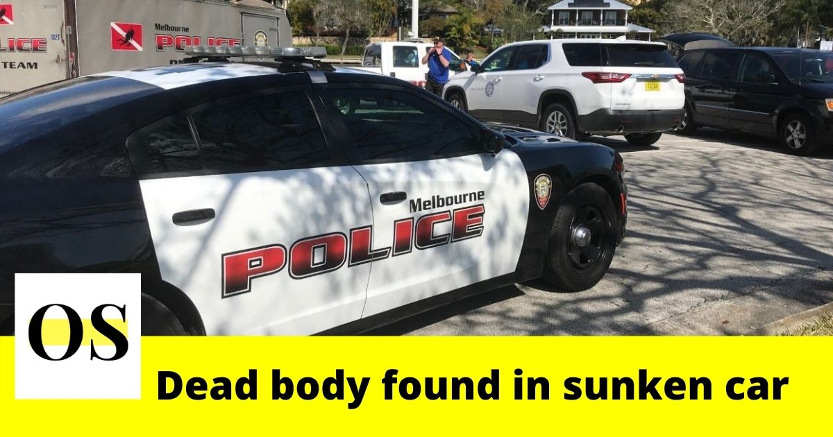 A dead body found in sunken car in Melbourne 1