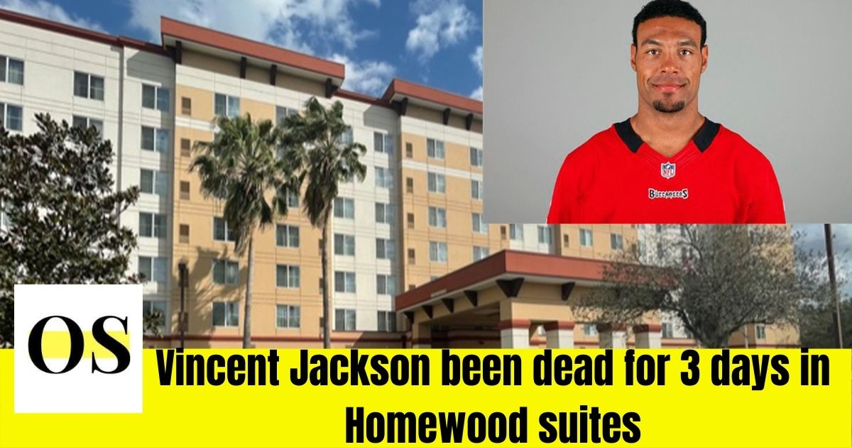 Vincent Jackson been dead for 3 days in Homewood suites 2