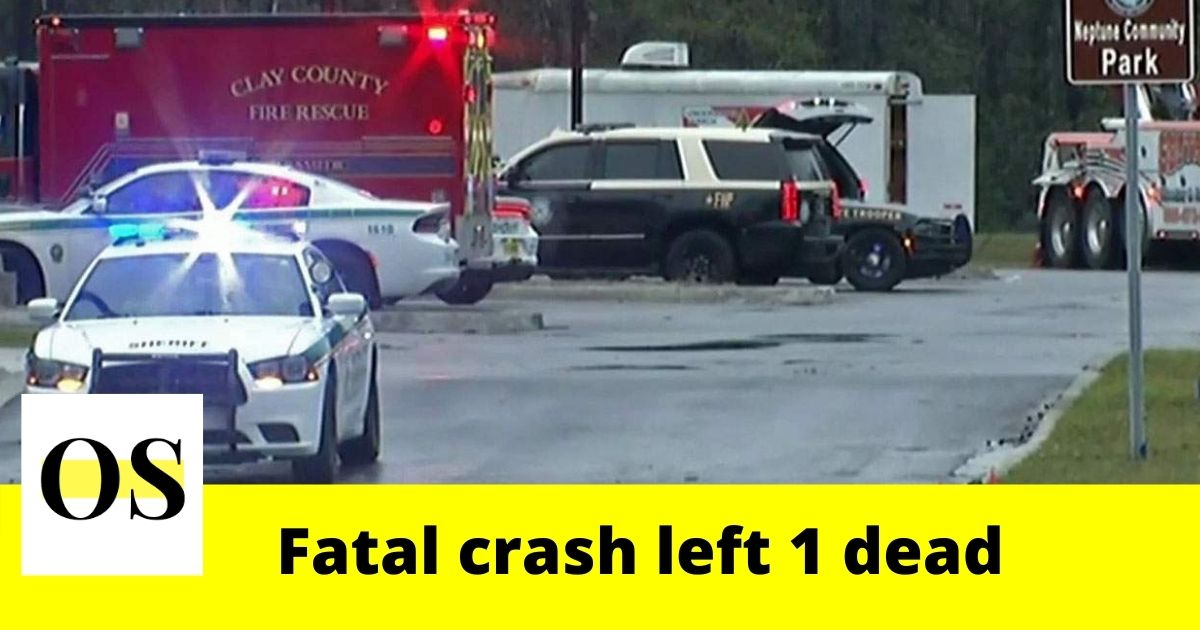 1 dead in a crash in Fleming Island 4