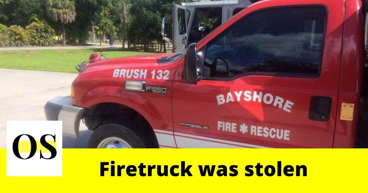Firetruck stolen while Bayshore Fire Rescue responded to call 2