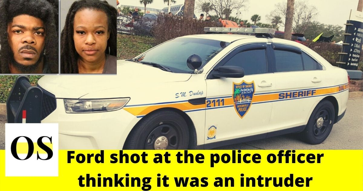 911 call to prove innocence of the woman who shot an officer during a raid in Jacksonville 1