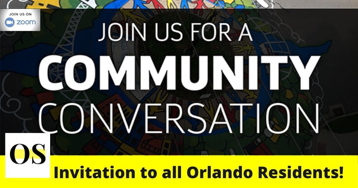 Invitation to all Orlando Residents