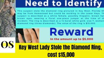 Woman Wanted that Stole the Diamond Ring of Cost $15,000 1