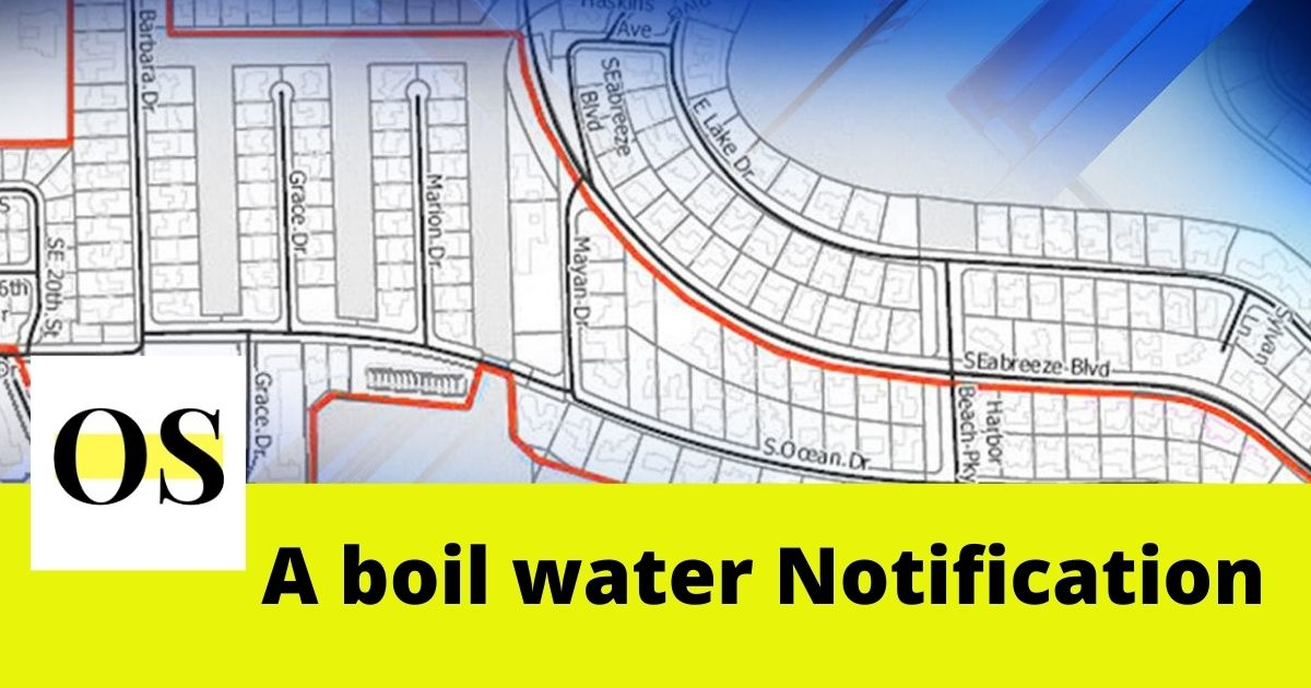 Boil Water Notification placed for Different part of Broward County. 4
