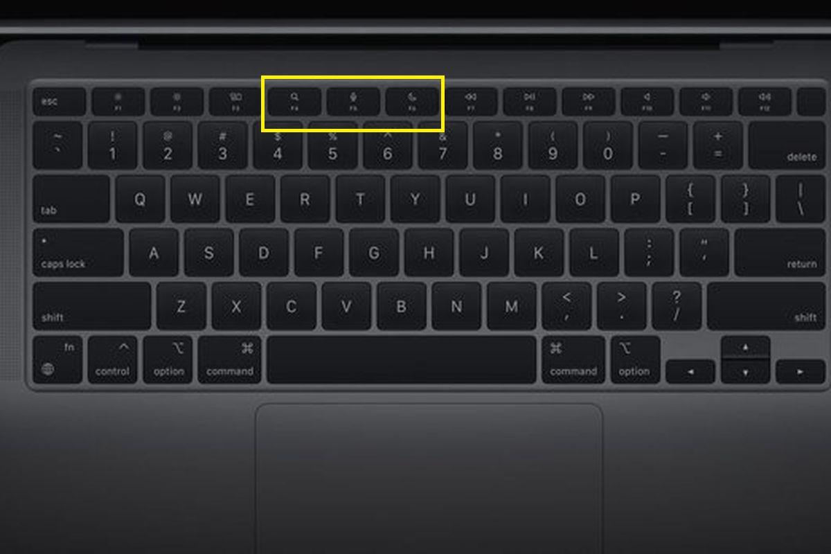Tricks to Adjust Keyboard Brightness on MacBook Air. 3