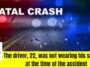 Deadly single vehicle accident