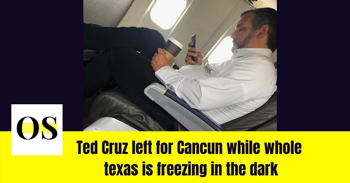 Ted Cruz gets slammed for vacationing during crisis 2