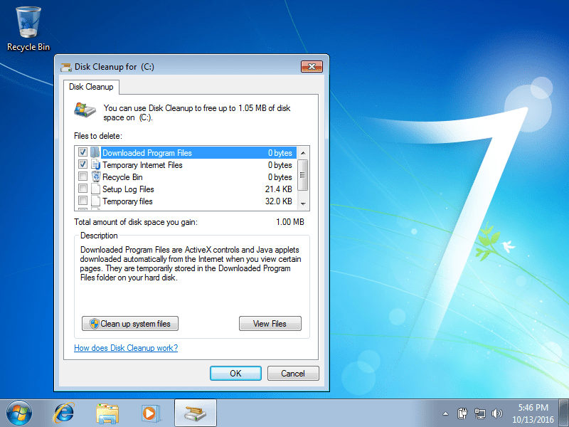 How to free up hard disk space on windows. 3