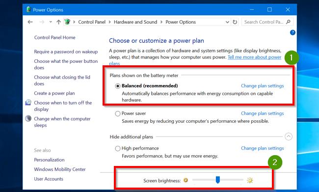 Tricks to adjust brightness on windows 10. 2
