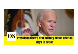 Biden's first military action after 36 days in action 3