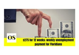 275 - unemployed payment