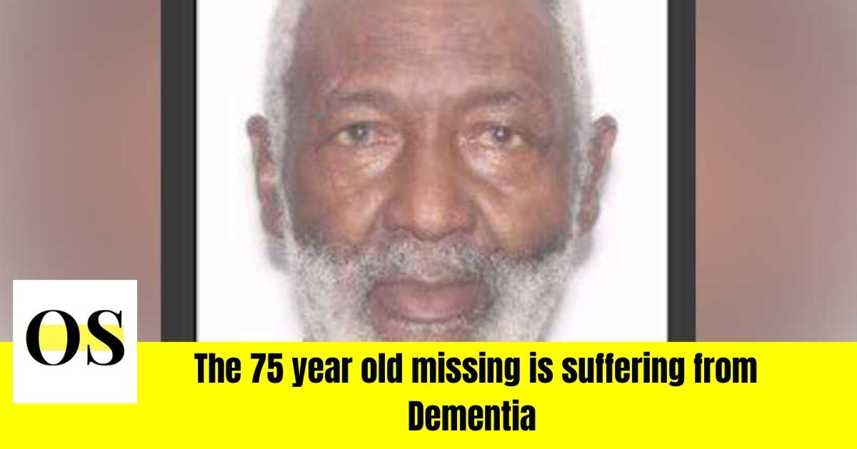 75 year old missing person