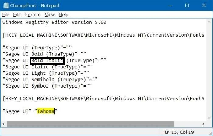 How to Quickly Change the Default System Font on Windows 10. 6