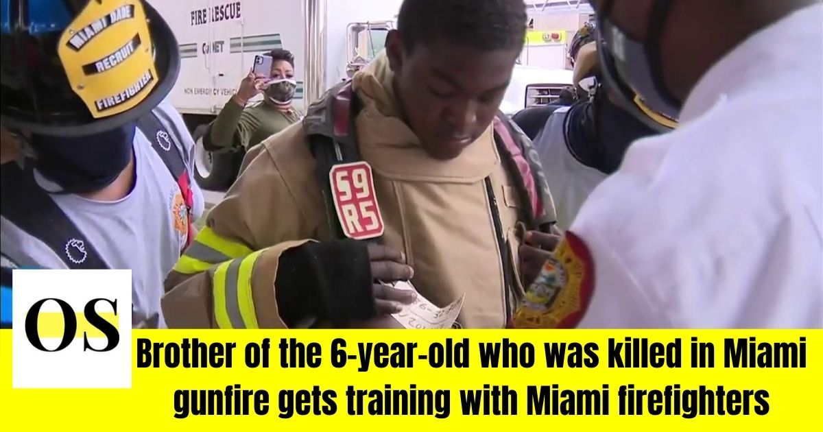 receives training with Miami-Dade Firefighters