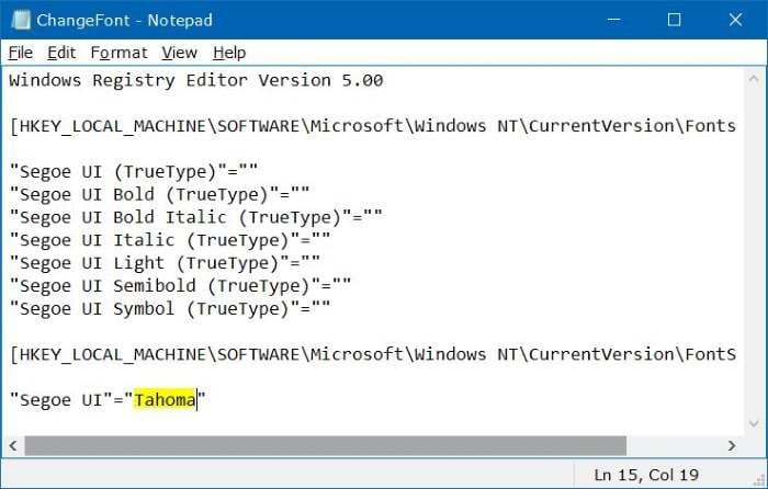 How to Quickly Change the Default System Font on Windows 10. 5