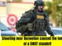 Lengthy SWAT standoff due to shooting