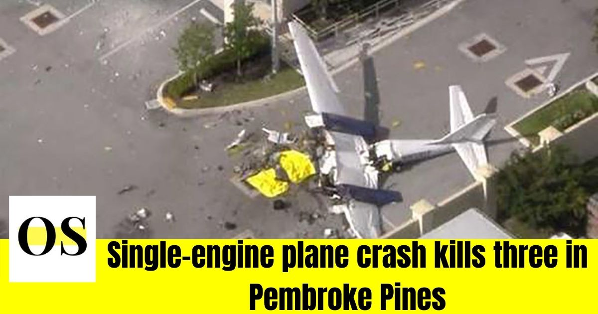 3 killed during the plane crash