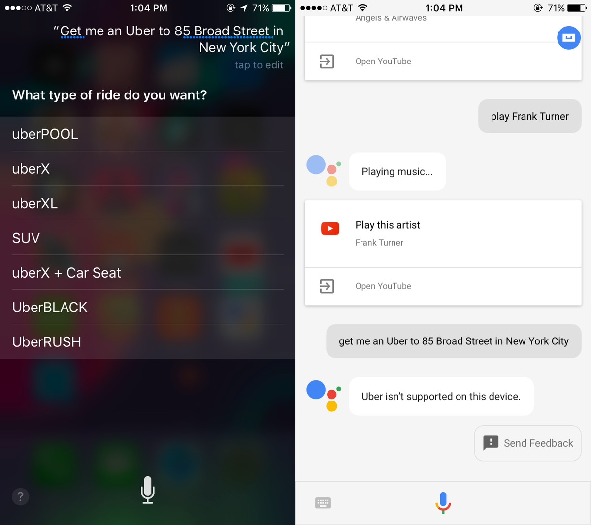 How to Launch Google Assistant with Siri. 7