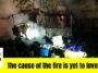 heavy fire in Orange County