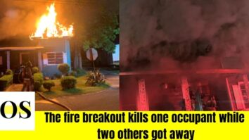 Fatal fire break out