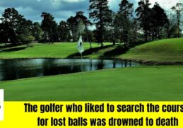 Golfer died
