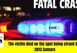 Unidentified man killed in a hit and run