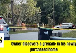 Grenade at a home in Orange County