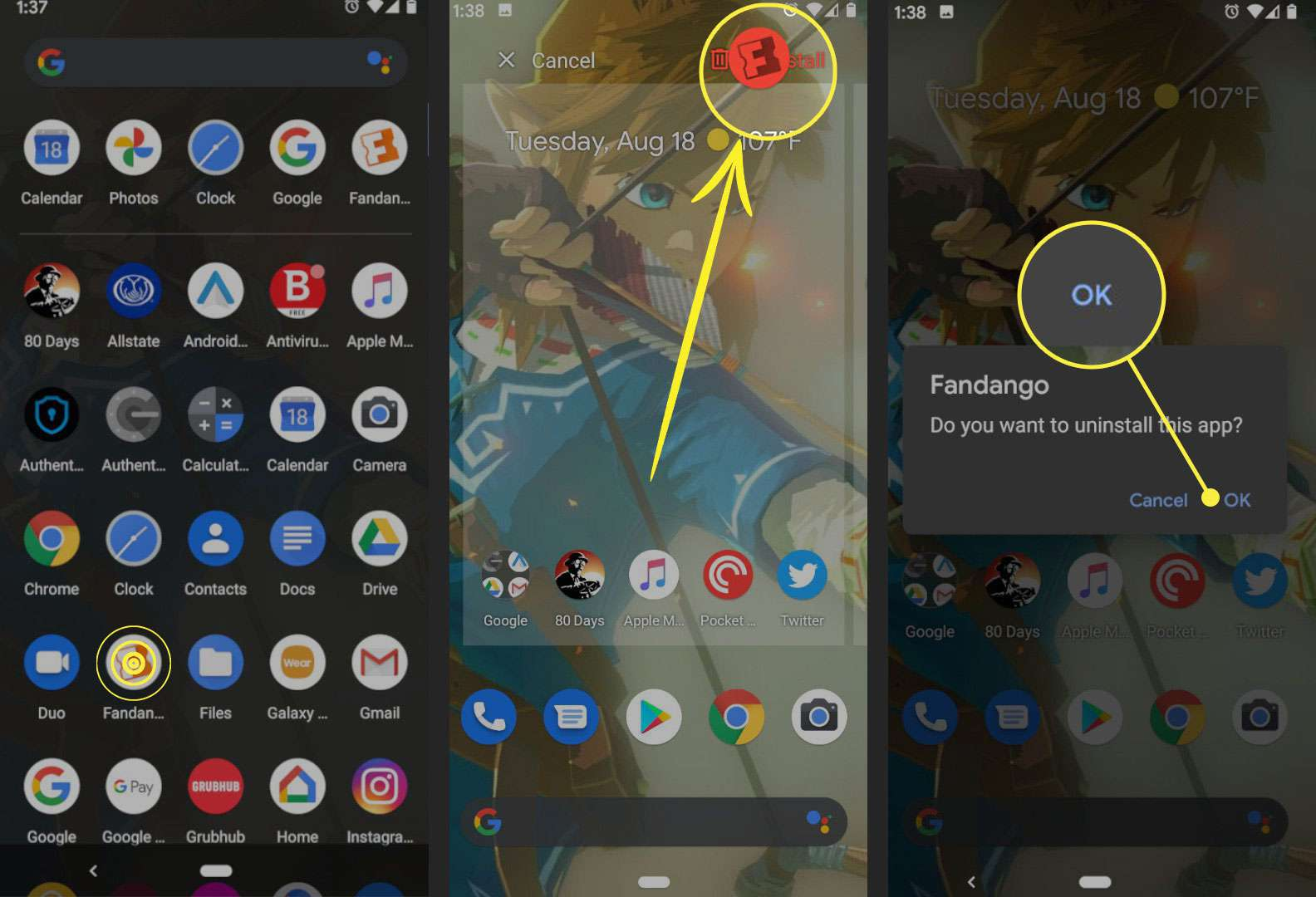 How to Fix The Apps Not Working on Android. 4