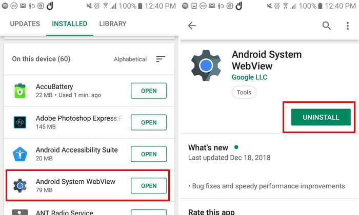 How to Fix The Apps Not Working on Android. 5