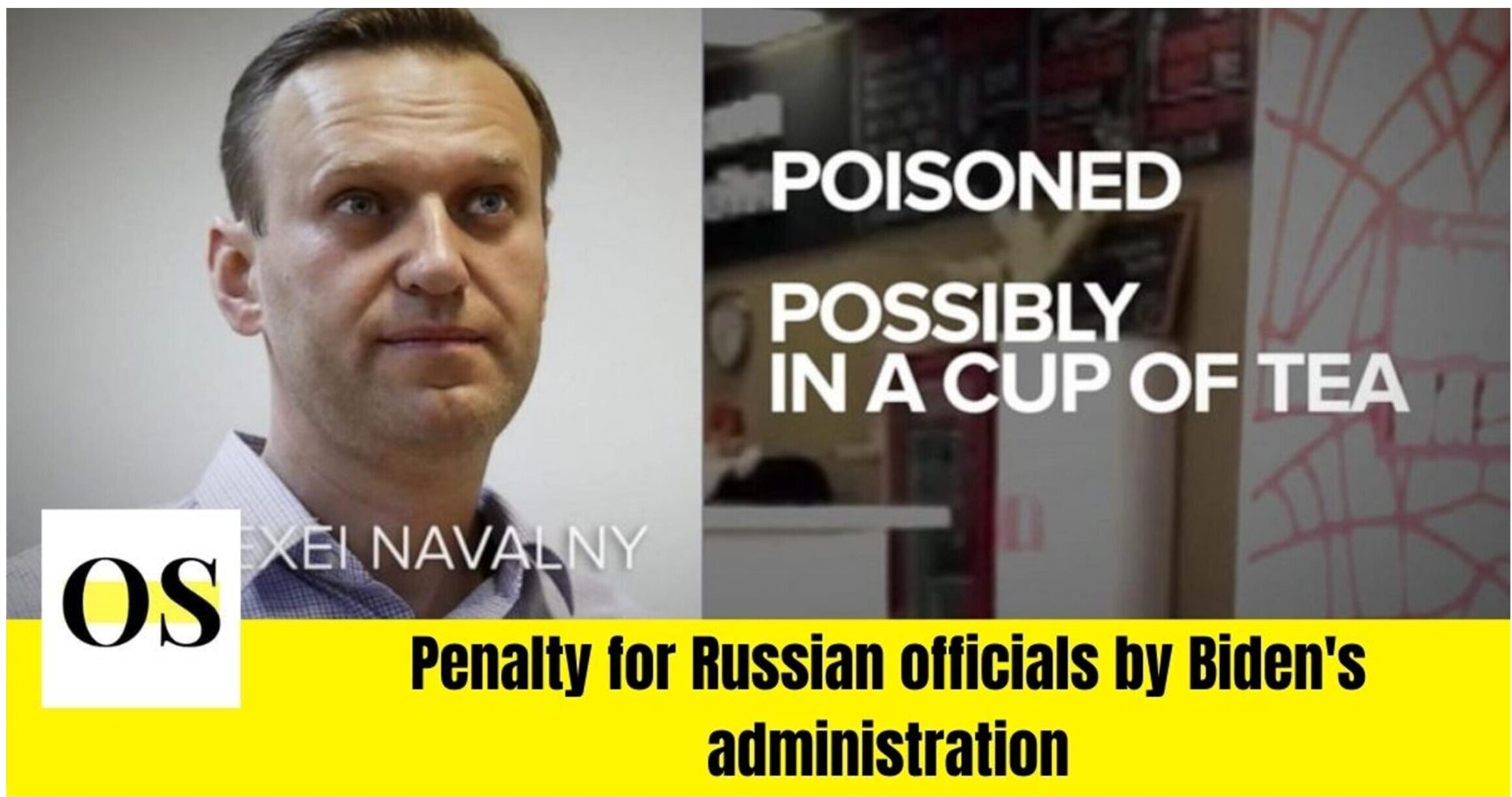 Penalty for Russian officials by Biden's administration 1