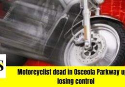 Deadly crash kills a Motorcyclist