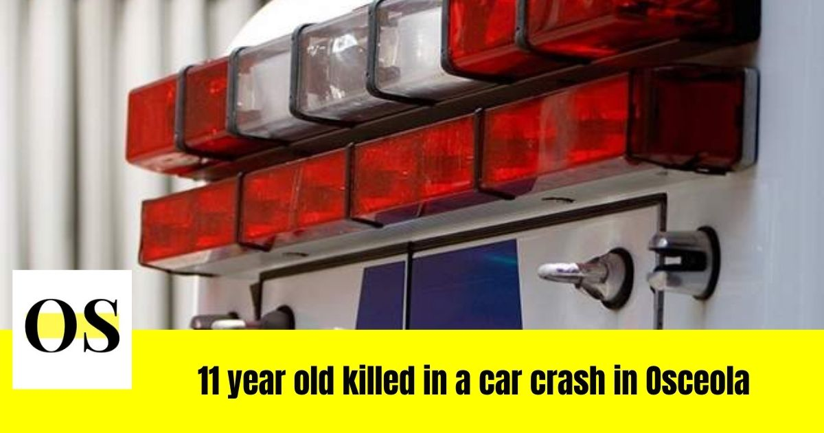 A girl of 11 killed in a street race crash