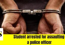 Student remains in custody upon arrest