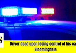 Driver dead upon losing control and hitting a tree