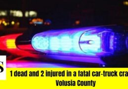 1 dead while 2 others injured during a car crash