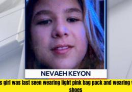 missing child alert