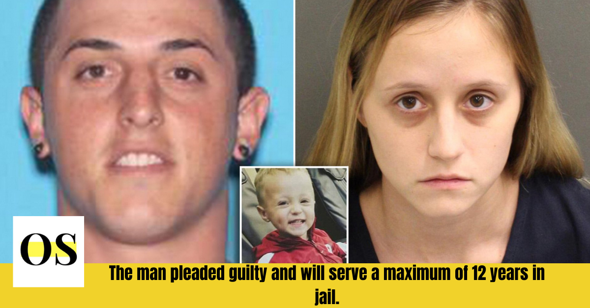 A man pleads guilty to the death of a 2-year-old child and faces up to 12 years in jail. 1