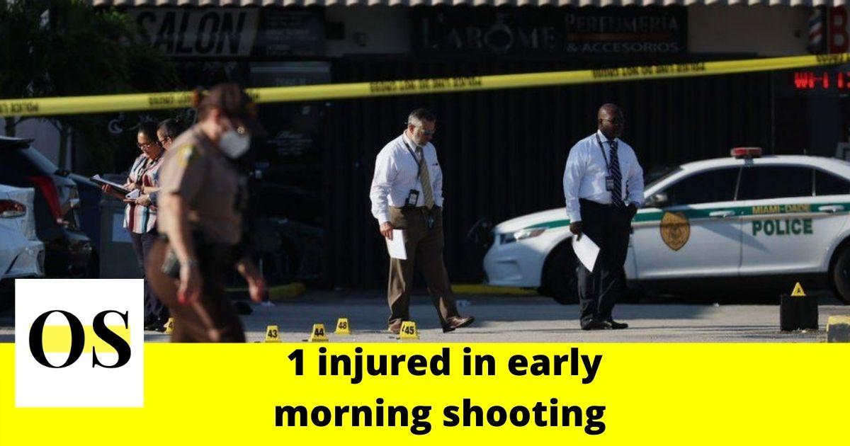 1 shot near East Union and Van Buren streets 1