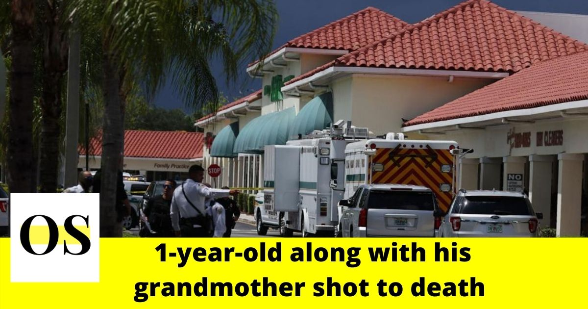 1-year-old boy and his grandmother shot to death in Florida grocery store 6
