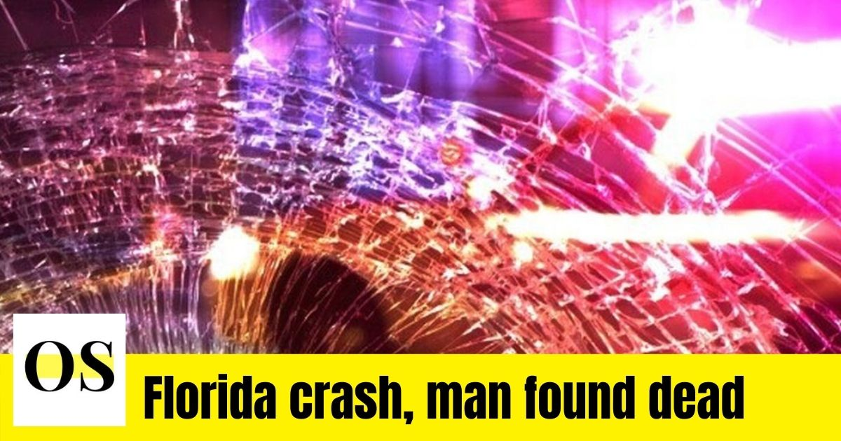 A guy was killed in a car accident in Sumter County, Florida. 1