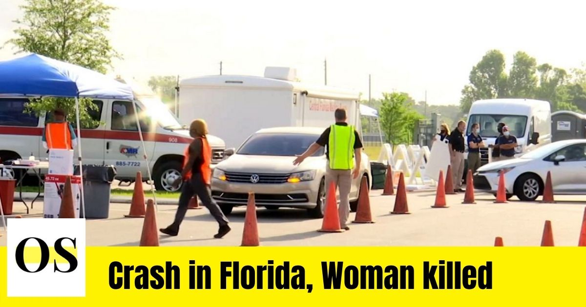In a car accident in Ocala, a woman was killed and a man was injured. 1