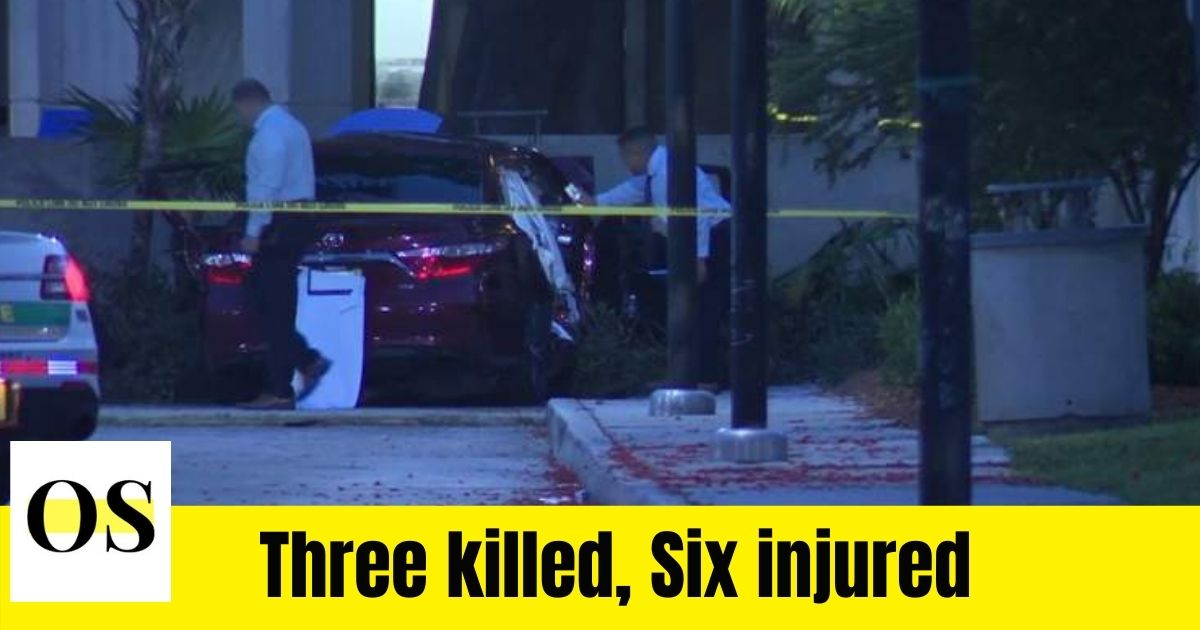 Deadly shooting in South Florida shooting while leaving graduation party. 1